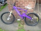 Orange Downhill Mountain Bike Kona Trek Carrera Full Sus