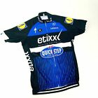 Etixx Quickstep Specialized Peugeot Latexco Lidl Full Zip Jersey Small