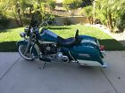 2009 Harley Davidson Touring ROAD KING CLASSIC 2009 HARLEY DAVIDSON ROAD KING CLASSIC FLHRC TEAL AND WHITE 37894 MILES