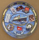 RMS Titanic Commemorative Plate 1912 - 2012 Ship of Dreams Her Glory Lives On