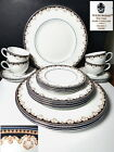 Wedgwood China MEDICI 20 Pc Set, 4 Five Piece Place Settings, Mint !