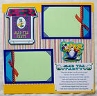 RIDING THE TEA CUPS DISNEY One 12X12 Premade Scrapbook Page
