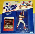 1988 WILLIE MCGEE St. Saint St Louis Cardinals Rookie - low s/h- Starting Lineup