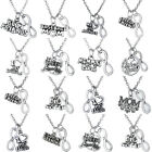 Mom Sister Grandma Family Mother Pendants Charms Necklace Jewelry Best Friends