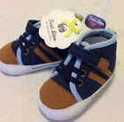 First Steps By Stepping Stones Boys Infant Dress Crib Shoes 6 9 Months Sz 3