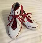 Nike Flight Zoom Air Basketball Shox Shoes Red White Size 85