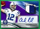 2013 Topps Platinum ANDREW LUCK AUTOGRAPH PATCH Colts 16 25