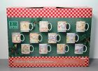 Full Set of the 12 Days of Christmas Mugs in Box - 222 Fifth