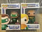 FUNKO POP! DC UNIVERSE AQUAMAN and Green Lantern PX PREVIEWS EXCLUSIVE