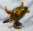 Large Murano Hand Blown  Formed Glass Turtle Sculpture
