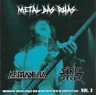 CD FIRE STRIKE / ARMADILHA - SPLIT CD METAL DAS RUAS VOL. 2  (NEW)