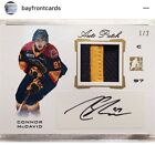 2014 CONNOR MCDAVID ITG GOLD AUTO PATCH # 2