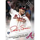 2017 TOPPS NOW #59A DANSBY SWANSON AUTO 99 1ST CAREER WALK-OFF IN SUNTRUST PARK