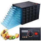 10 Tray Commercial Food Dryer Dehydrator Beef Jerky Fruit Veggies 630W