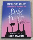 INSIDE OUT **SIGNED COPY** PINK FLOYD's NICK MASON~ 3-CD AUDIO-BOOK~UK~+32 Page