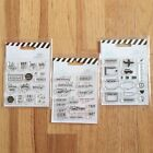 Lot of 3 Heidi Swapp Clear Planner Stamps