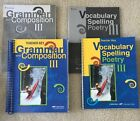 Abeka grade 9 grammar and composition vocabulary spelling poetry III key 4th