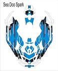 Sea-Doo Bombardier Spark 2 3 Jet Ski Graphic Kit Wrap Jetski pwc decals wrap 10