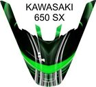 kawasaki 650 sx jet ski wrap graphics pwc stand up jetski decal kit 2