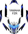 YAMAHA FZR jet ski wrap graphics pwc up jetski decal kit 3 WAVE RUNNER