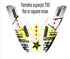 YAMAHA SUPERJET 700 jet ski wrap graphics pwc up jetski decal flat square nose 7