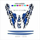 YAMAHA SUPERJET 700 jet ski wrap graphics pwc stand up jetski decal kit SUPER A6