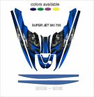 YAMAHA SUPERJET 700 jet ski wrap graphics pwc stand up jetski decal kit SUPER A3