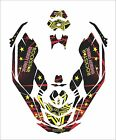 Sea-Doo Bombardier Spark 2 3 Jet Ski Graphic Kit Wrap Jetski pwc decals wrap rs