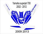 YAMAHA SUPER JET jet ski wrap graphics pwc stand up jetski decal kit 11
