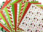 12X12 Scrapbook Paper Lot 20 Sheets Whimsical Christmas Prints Card Making L135