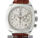 Tag Heuer Monza Chronograph Caliber 17 Steel 37mm Silver Dial CR2114.FC6165