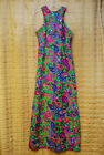 Vintage Mod Sequin Paisley Boho Maxi Psychedelic Mod Hippie Festival Small