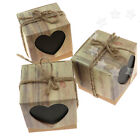 100 Piece Wedding Party Heart Love Sweets Cake Candy Gift Favour Favor Boxes