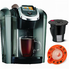 Keurig K545 Plus Coffee Maker Single Serve 2.0 Brewing System with Top Needle C
