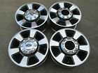 18 FORD F250 F350 SUPER DUTY FACTORY CHARCOLE WHEELS RIMS NEW TAKE OFFS