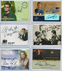 Television & Celebrity - Autograph Costume & Sketch Card Selection NM