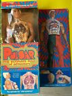 Mattel 1976 Pulsar Action Figure Blue insert missing Figure is 100 complete