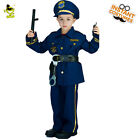 Cool Police Officer Costumes Boys PolicemanCopPatrol Man Cosplay for Children