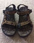Teva Outdoor Velcro Strap Sandals Mens Size 12