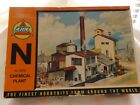 N Scale Chemical Plant Kit N 5830 by AHM Building Structure