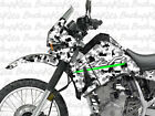 KAWASAKI KLR650 GRAPHICS FULL KIT PIXEL SNOWCAMO (1993 - 2007)