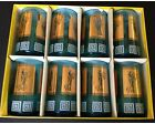 Enchant Ware Toronto Set Of 8 Greek Key And Mythology Glasses In Box Heavy Gold