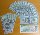 1x $100 Dollar Bill - Novelty-Movie Props-Fake Money-Training-Joke - USA Seller