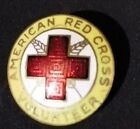 American Red Cross Vintage Pin Volunteer Staff Aide 1923