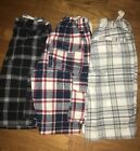 Lot Of 3 Boys Old Navy Plaid Shorts Size 8 Stretchy Waistband