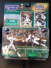1999-2000 Starting Lineup Football Classic Doubles John Elway T. Davis EXC!