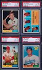 PSA 8 1961 Topps #41 1960 Batting Leaders Willie Mays Roberto Clemente NEW SLAB!