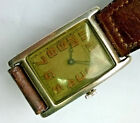 Rare J.E.Caldwell Sterling Wristwatch High Grade maybe U. Nardin Vacheron Koehn