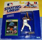 1989 Darryl Strawberry New York Mets - low s/h - Starting Lineup Kenner