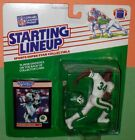 NM+ 1989 JOHNNY HECTOR #34 New York Jets Rookie - sole Starting Lineup NM+